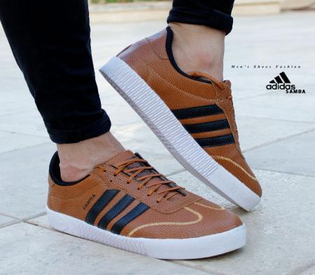کفش مردانه adidas مدل  SAMBA  عسلی